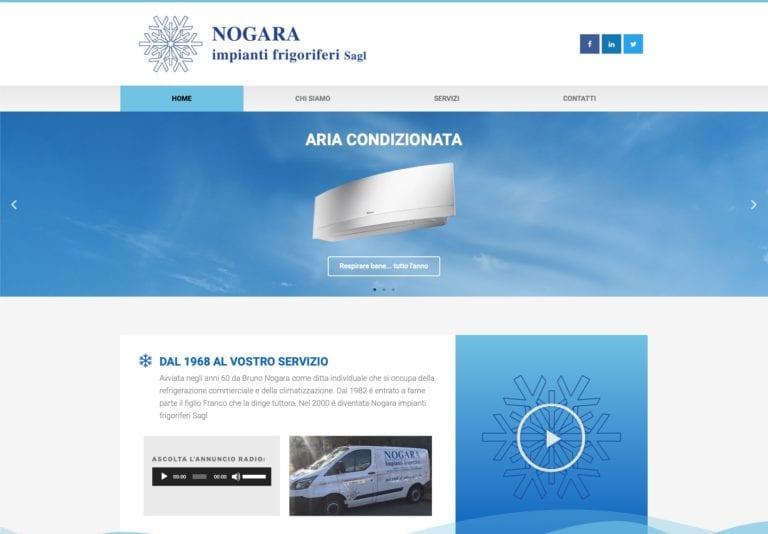 Neue Nogara Sagl-Website