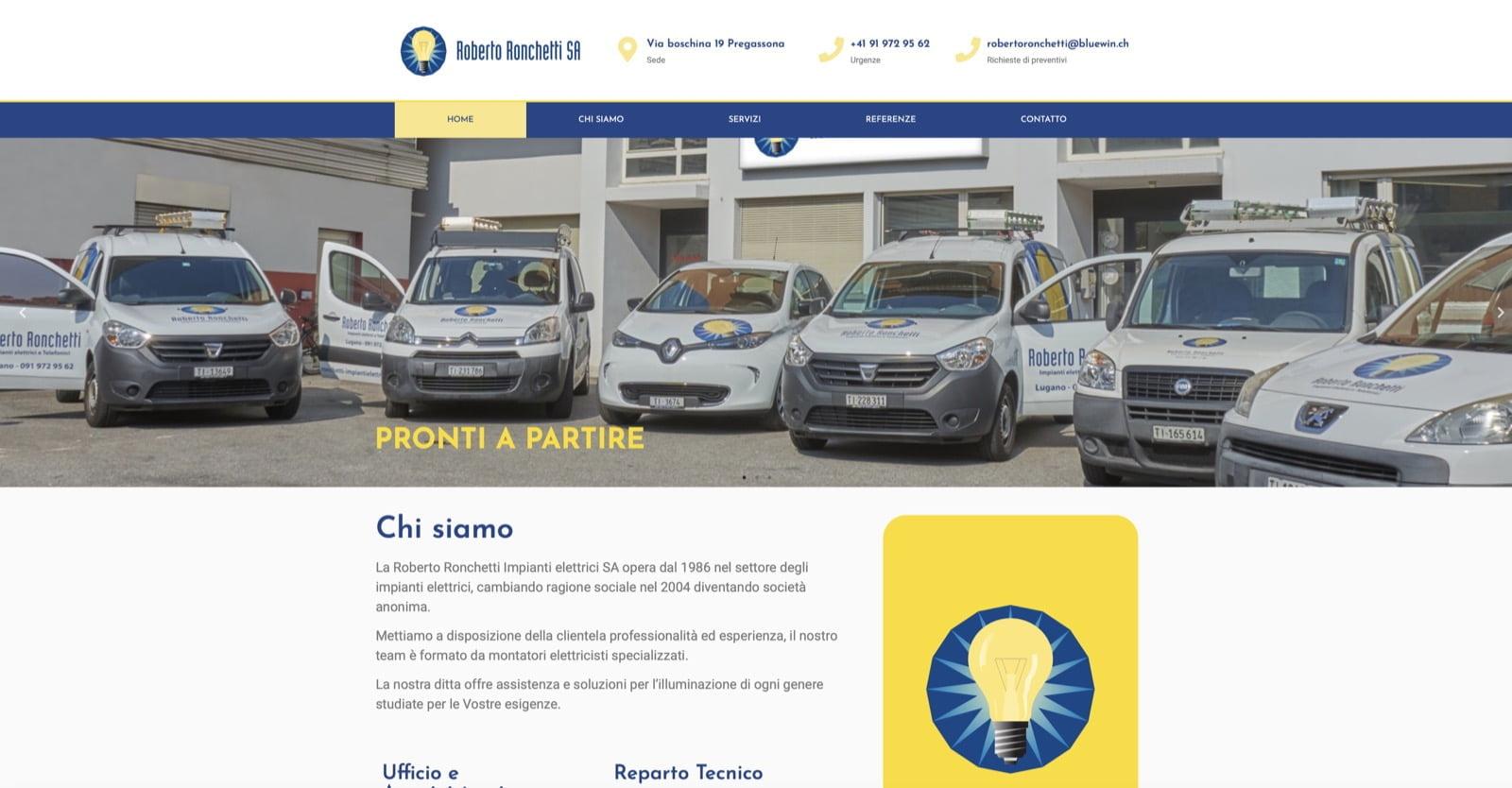 Realizzazione Siti Internet Ticino