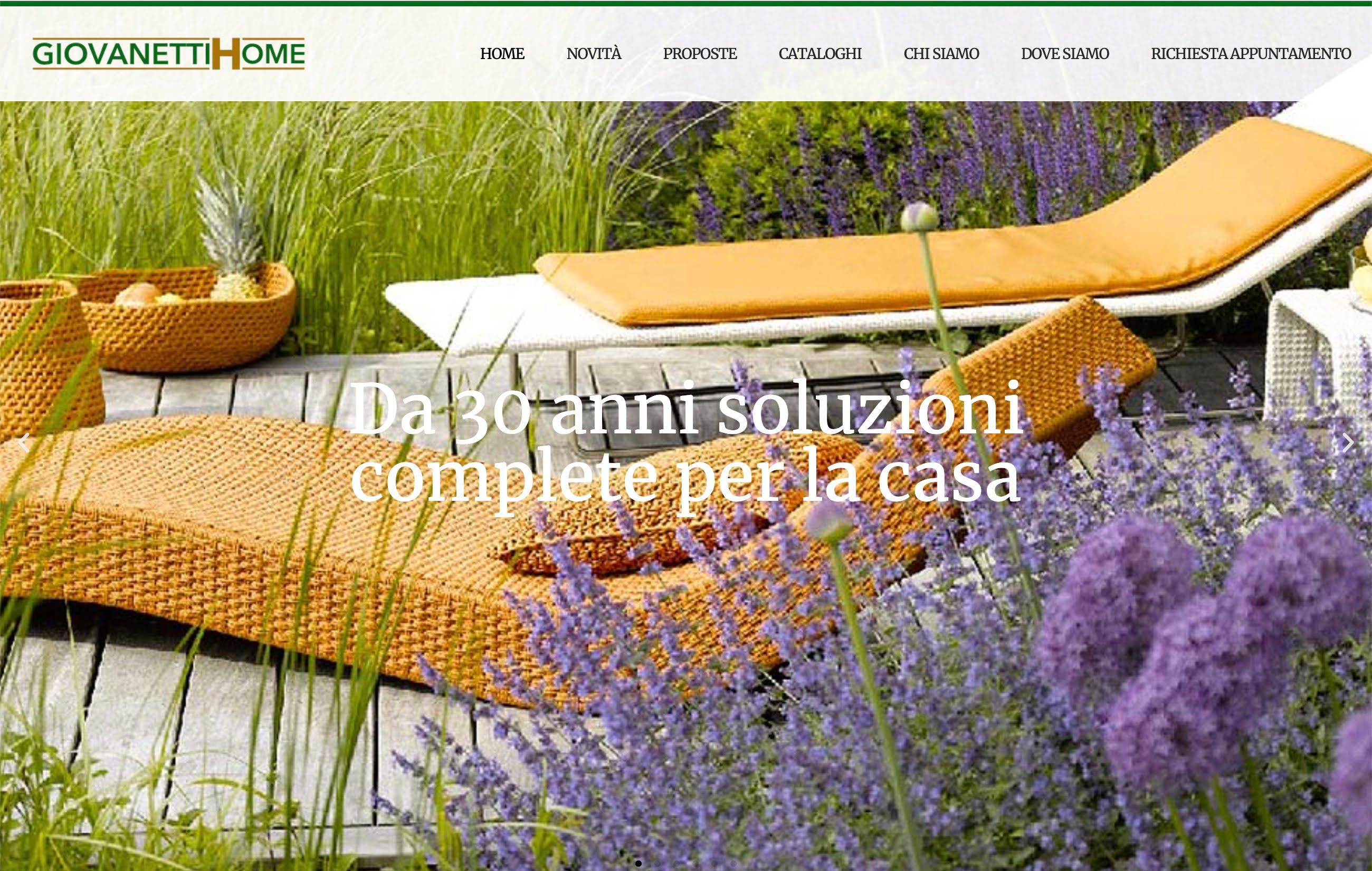 Giovanetti Home Webdesigner